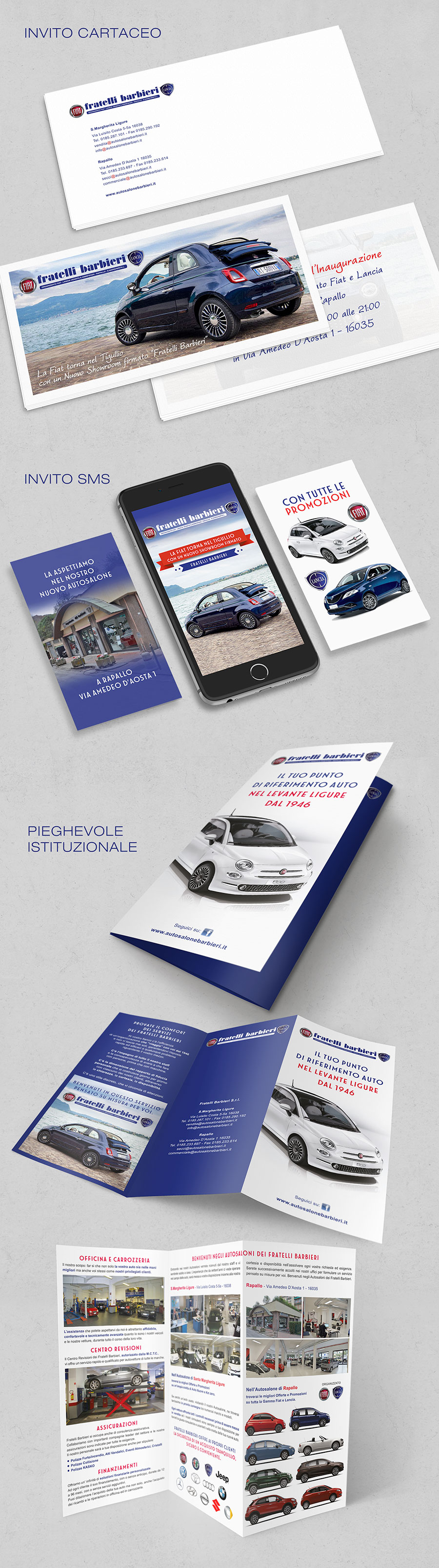 belink-design-fratelli-barbieri-invito-sms-marketing-brochure-flyer-inaugurazione